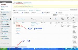 Где и как найти ID рубрики, записи или страницы сайта?
