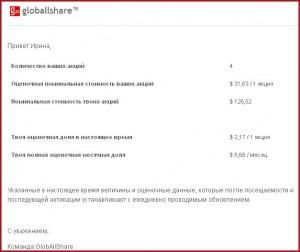 Новая социальная сеть для заработка в Интернете - GlobAllShare.
