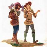 Притча «Два дровосека»