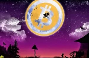 Moon Bitcoin (луна биткоин) зарабатывает биткоины даже если компьютер выключен