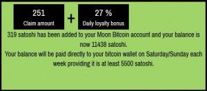 Бонус от сервиса Moon Bitcoin
