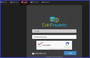 Новый биткоин кран CoinPower с возможностью прогрессивного заработка.