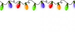 Новогодние украшения гирлянды