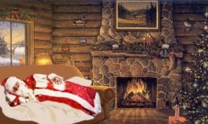 Как Желтый Пёс помог Деду Морозу встретить Новый Год