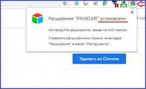 Payad.me - интересное расширение для заработка без вложений